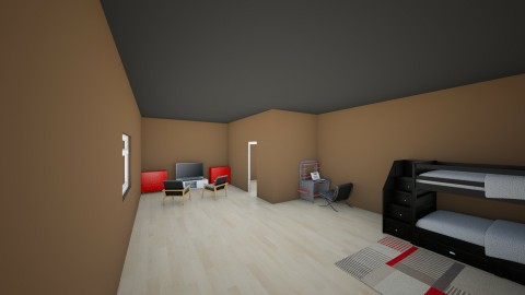 Stock Home Kids Room - Modern - Bedroom - by hunteronstad