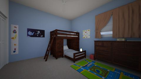 Bunk Beds - Bedroom - by josielz