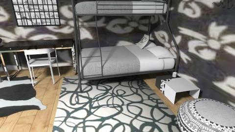 black and white - Modern - Bedroom - by jazzmineherzig