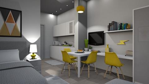 student apts - Modern - Bedroom - by takiii1