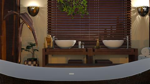 Africa_Bathroom - Bathroom - by ZuzanaDesign
