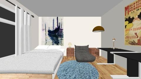 Mid Century Makeover - Retro - Bedroom - by eleggett