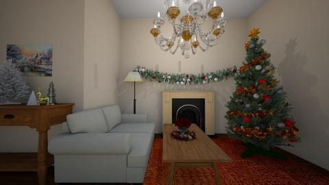Christmas room - by BlobbyFish