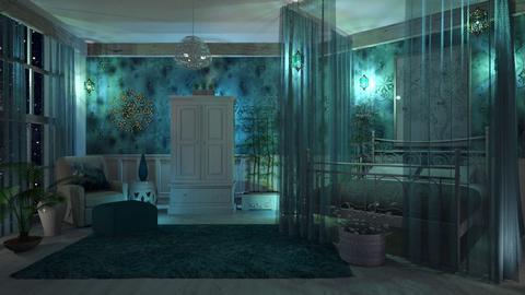 Winter Bedroom - by Bren123