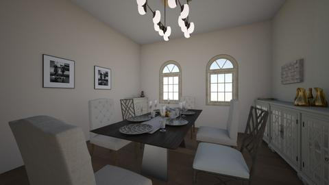 Design 05 - Dining room - by Syarifxh