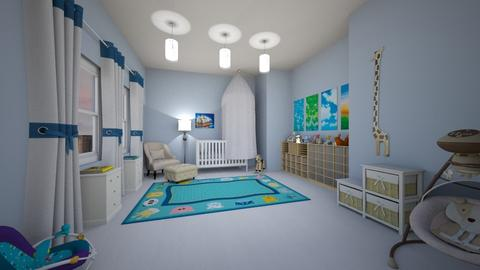 h7uj - Kids room - by milica tanurdzic