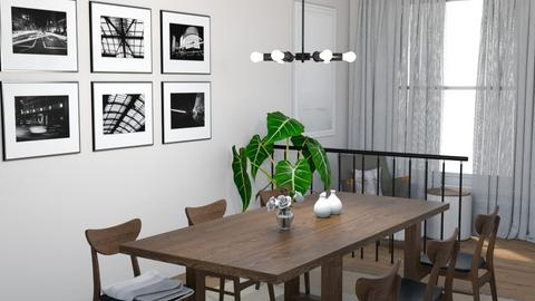 Mid Century Modern Dining - Dining room - by kyrabaldwin