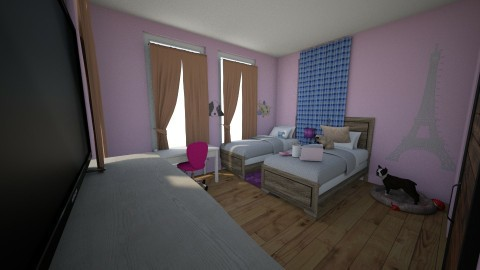 girls room - Kids room - by davis42405