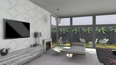 modern living room 3 - Modern - Living room - by Paulina Triantafyllou
