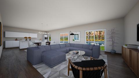 LRDRLeeflx88 - Living room - by evakarwowska