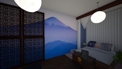 Dormitor - by Ferchiumihaela