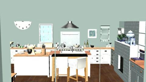 CountryKitchen6 - Country - Kitchen - by camilla_saurus