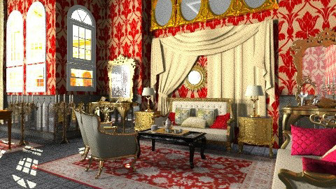 Tea for The Queen - Classic - Living room - by Bibiche