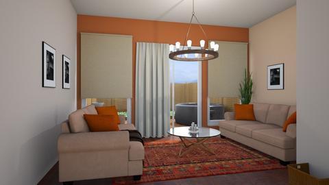 Garden Template - Living room - by josielz