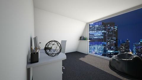 Gaming Room - Modern - by KKIsCrazyAF