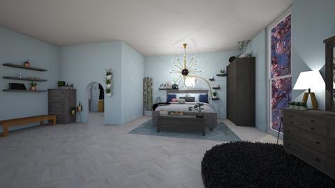 IP Diego - Bedroom - by cutebaxter123