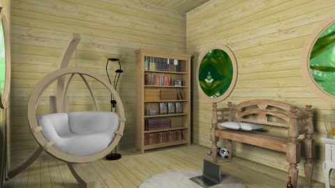 Tree House - Kids room - by HermioneJMalfoy