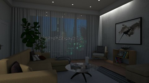 Chic and Stylish - Living room - by color blind