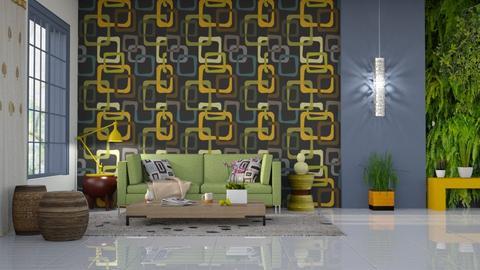 Geometrico - Living room - by Alecio