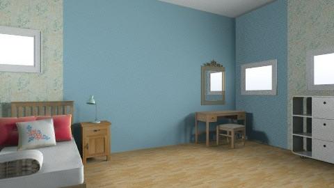 simple guest bedroom - Minimal - Bedroom - by mimiB