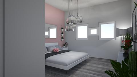 preety in pink teen room - Modern - Bedroom - by homouse