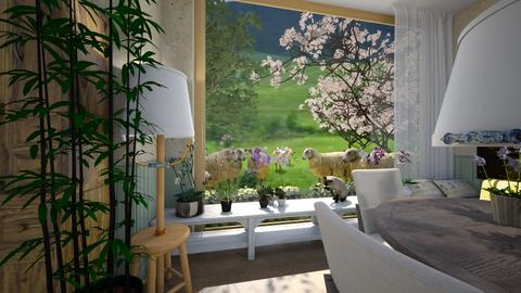 ovejas - Living room - by ana111