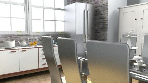 design45 - Modern - Kitchen - by blondina14