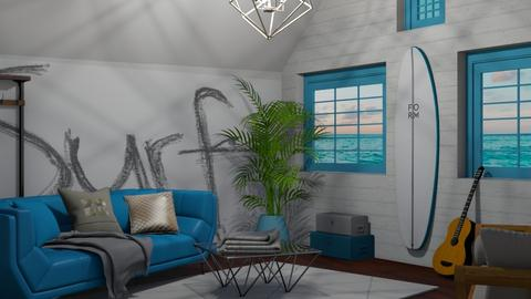 Surf_living - Living room - by RaeCam