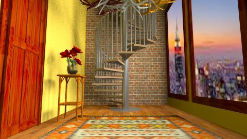 Hallway in New York - Eclectic - by Kelzoid