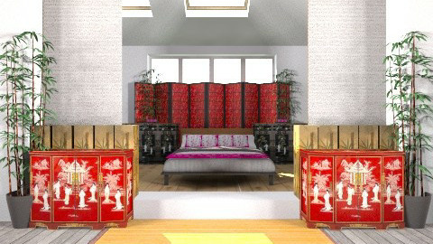 china escape - Classic - Bedroom - by Linda Eubanks