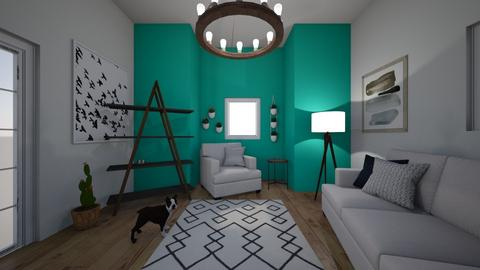 ocean breeze - Living room - by Alice F
