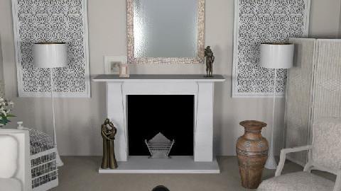 LeBeauSalonBlanc - Glamour - Living room - by camilla_saurus