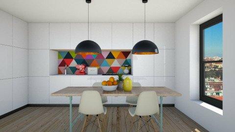 Geometric Kitchen - Modern - Kitchen - by Maria Esteves de Oliveira