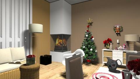 christmas - Vintage - Living room - by dim