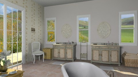 Salina Sink ChestBathroom - Country - Bathroom - by giulygi