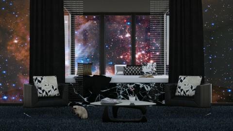 Stargazing Room2 - Modern - Bedroom - by bgref