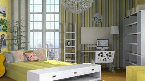 Sunny bedroom - Modern - Bedroom - by ovchicha