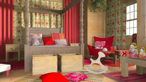 RUS - Country - Bedroom - by chania