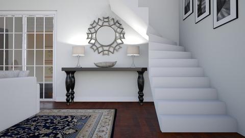 Foyer - Living room - by GraceKathryn
