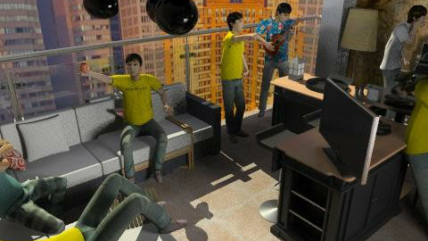 balcony party - by repelikeva