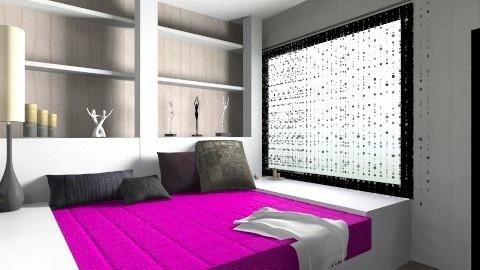 43434343434 - Bedroom - by maria zauer