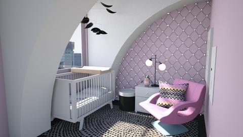 Attic nursery - Kids room - by amyskouson