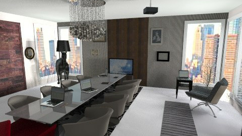 Sala de reunioes  - Modern - Office - by jessica_rodriguez