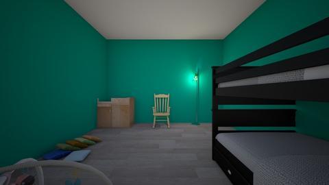 Kids room 1 - Kids room - by marielysr