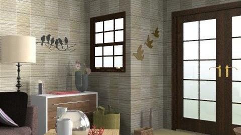 room - Modern - Bedroom - by enikovas