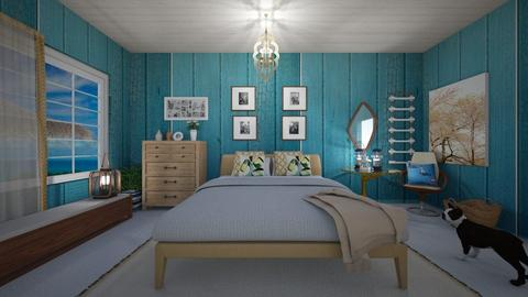 Seahorse - Classic - Bedroom - by Tara T