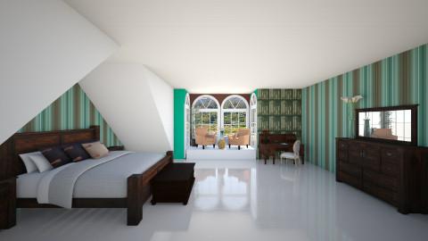 dreams  - Bedroom - by Almadeflores