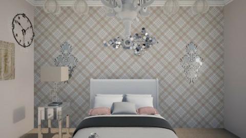 Valencia - Feminine - Bedroom - by DesireToDesign