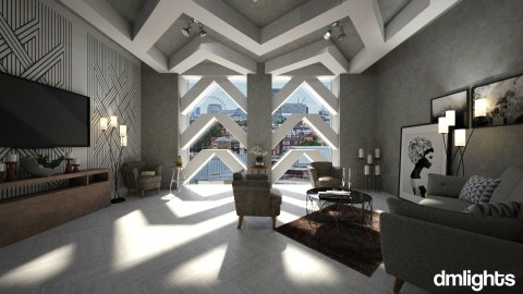 A look at the London - Living room - by DMLights-user-991288