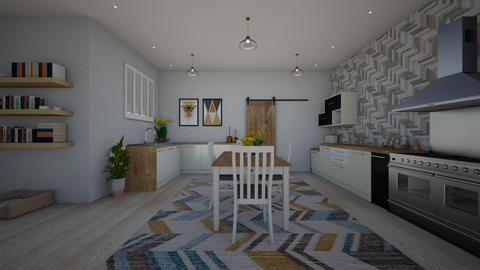 scandinavian - Kitchen - by rousseysmith